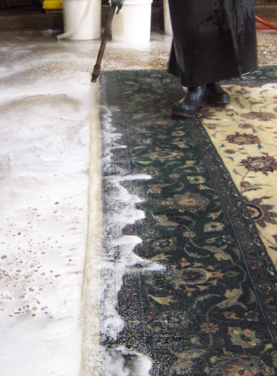 Cleaning Process Christian Lorraine Oriental Rugs